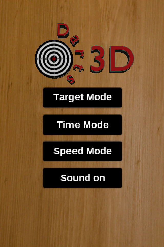 Screenshot Darts 3d !