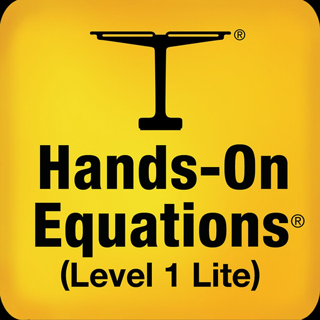 The Fun Way to Learn Algebra - FREE - Hands-On Equations 1 Lite app icon